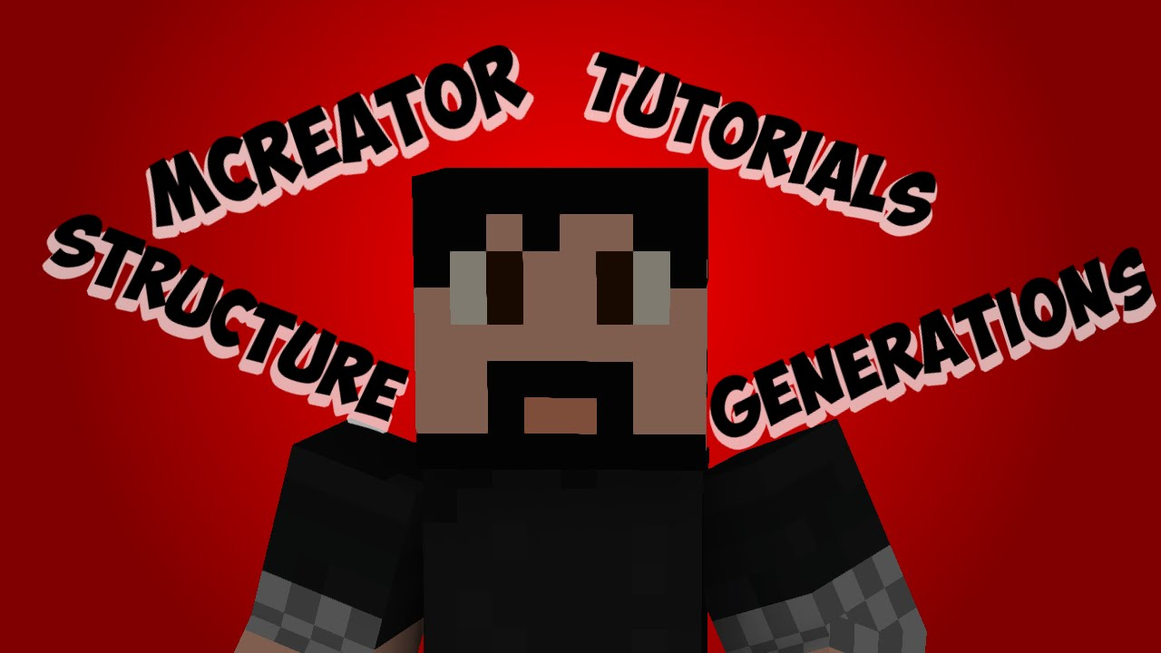 MCreator Tutorial (1 6 8) [1 9] #17 How To Make Structures That Generate In  Game!