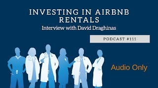Gambar cover Podcast #111- Investing in Airbnb Rentals with David Draghinas
