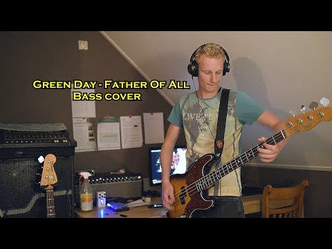 Download Green Day - Father Of All :: Bass cover Mp4 baru