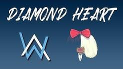 Alan Walker ft Sia Diamond Heart (Lyric Video)