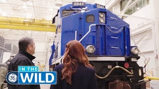 Inside A Tier 4 Locomotive: From Engine Building To Train Monitoring - In The Wild - GE