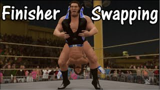 WWE 2K16 | Finisher Swapping w/ André the Giant