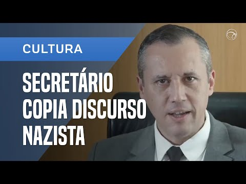 SECRETÁRIO DE BOLSONARO COPIA MINISTRO DE HITLER