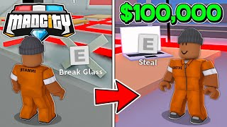 *NEW FRUIT STORE HEIST* IN ROBLOX MAD CITY!!