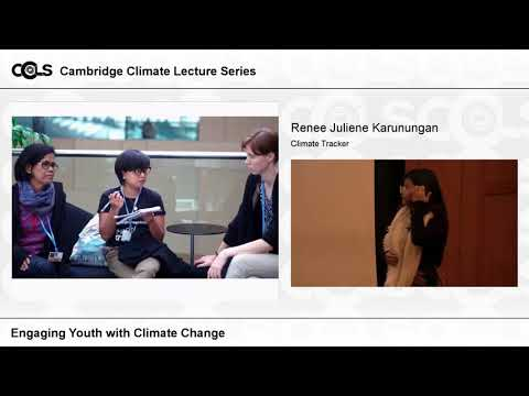 Lecture 2: Engaging young people on climate change #ccls2018 by Renee Karunungan
