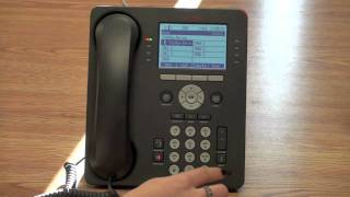 Setting Up Mailbox for First Time on Avaya 9608 Telephone