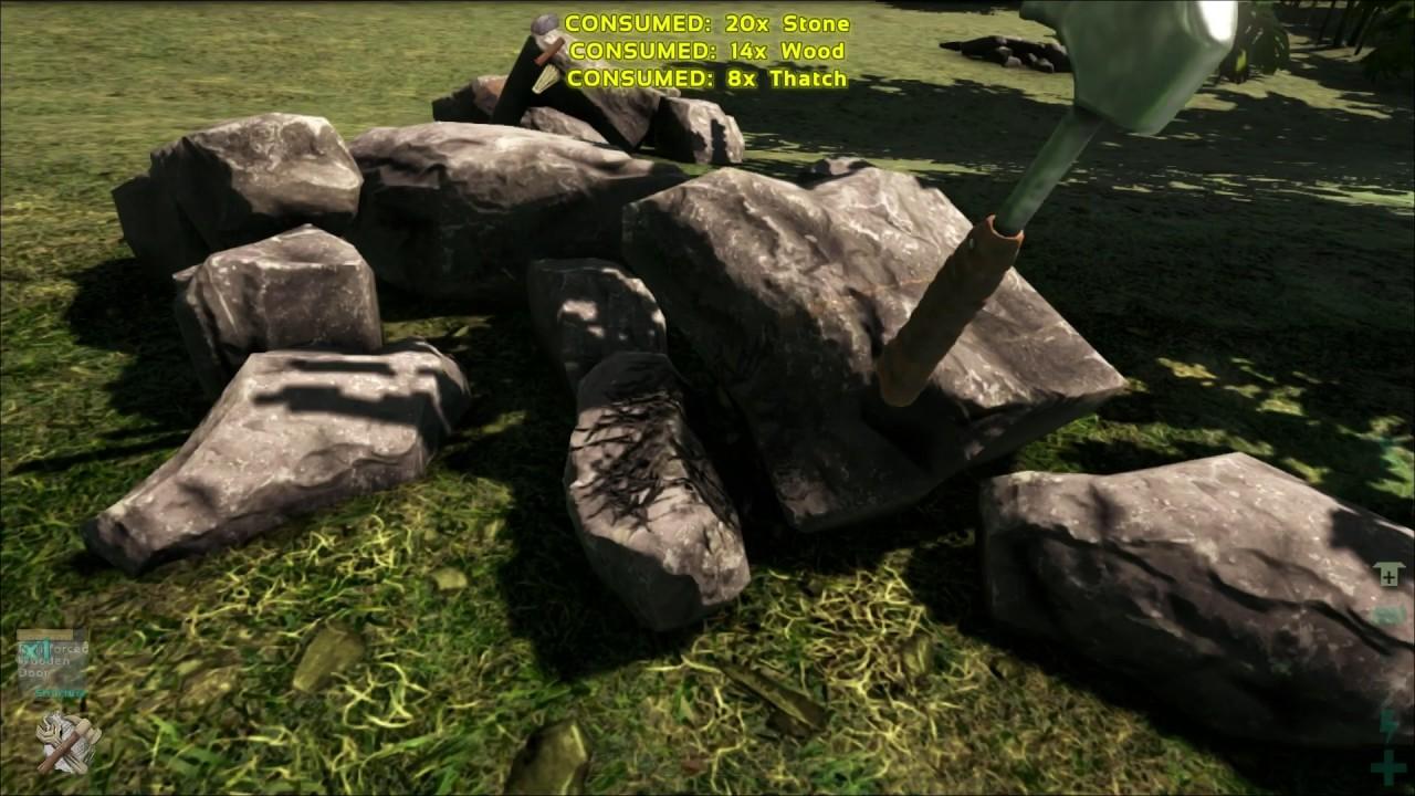 What is Stone Door called - ARK & What is Stone Door called - ARK - YouTube