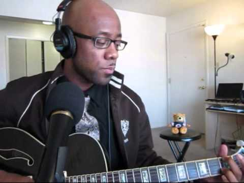 Send it On (D\'Angelo cover with extended guitar solo) - YouTube
