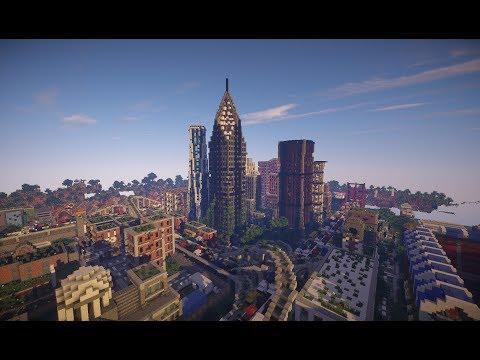 Minecraft Cinematic: The Last Of Us Build (Post Apocalyptic City)