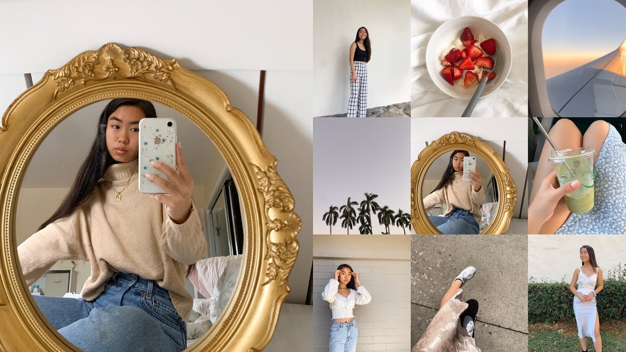 How I Edit My Instagram Photos White Aesthetic Filters Plan My Feed Kate Li Kkateli Youtube
