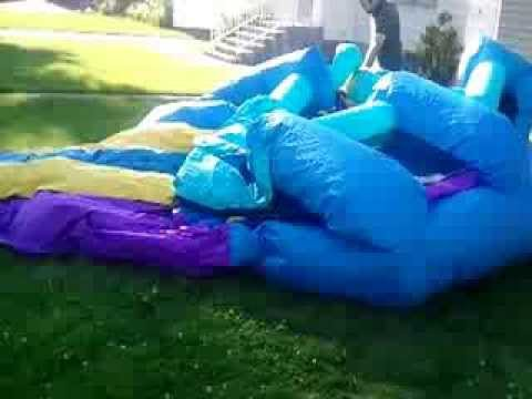 Bounders how to inflate a bounce house