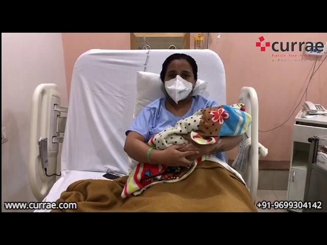 Pt. Varsha Dewaskar   Birthing   Dr. Rekha Thote   Currae Hospitals