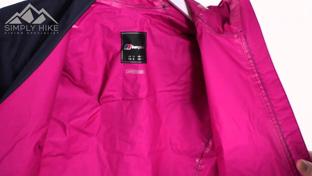 7a5e15988 Berghaus Womens Stormcloud Hydroshell Jacket Evening Blue -  www.simplyhike.co.uk