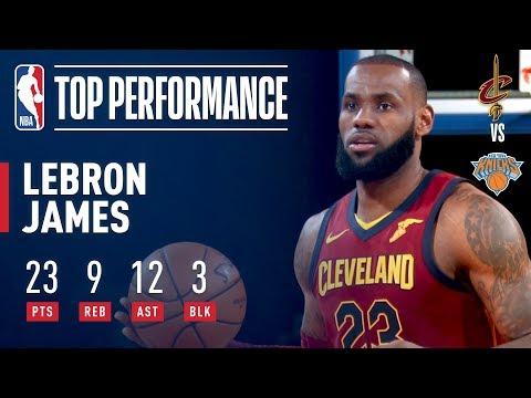 LeBron James Rallies Cavaliers Past Knicks at MSG | November 13, 2017