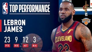LeBron James Rallies Cavaliers Past Knicks at MSG | November 13, 2017