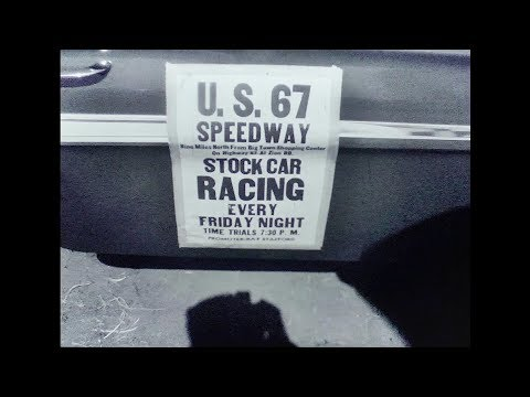 WFAA Film On A Car Race At The US 67 Speedway (Silent)