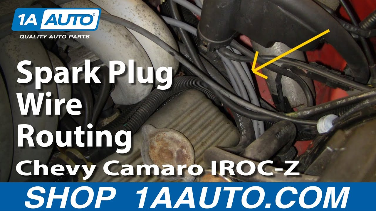 Plug Wire Route On A Z28 Iroc Z Trans Am Or Formula 305 Or
