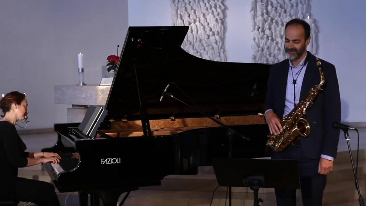 #livestream G.F. Händel - Siciliana - Peter Lenzin #Saxophon, Claire Pasquier #Fazioli 278