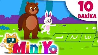Küçük Tavşan ile Tombik Ayı Sek Sek Oynuyor + Daha Fazla Çocuk Şarkısı   Miniyo