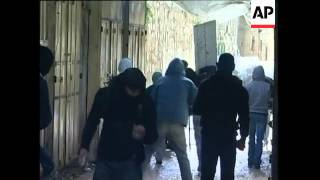 Israeli police forces storm holy site to disperse Palestinian protesters