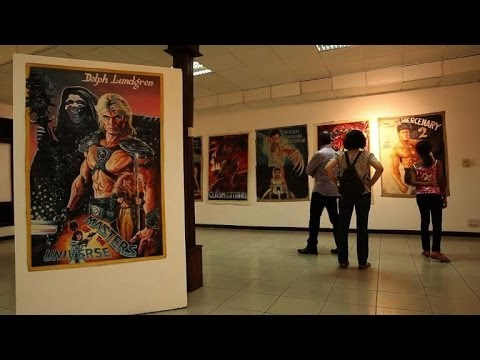 Ghana's hand-painted film posters win fans