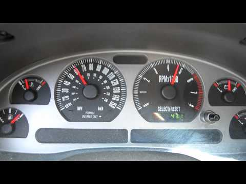 2003 Ford Mustang Mach 1 0-60 Stock Automatic