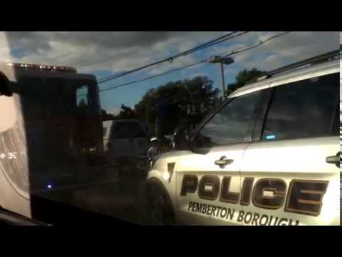Pemberton township nj fire truck and police on scene youtube sciox Choice Image