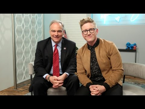 'The Tyler Oakley Show' With Senator Tim Kaine