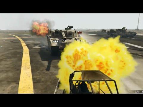 TANK VS STİCKY!! - GTA 5 Online Komik Anlar #92