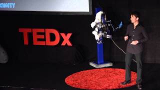 An exoskeleton to remote-control a robot | André Schiele | TEDxRheinMain