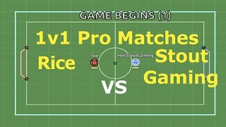 1v1 Pro Matches : Rice : Myball.io