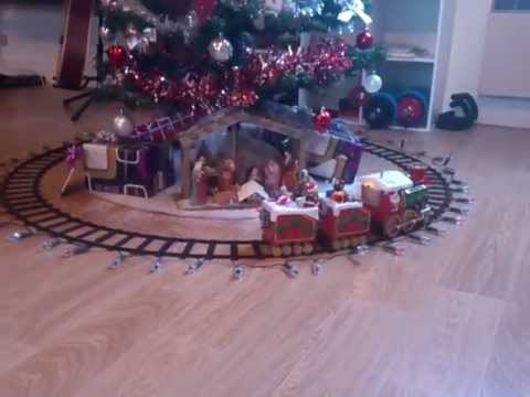 deco sapin train
