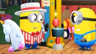 Despicable Me Minion Rush - TRIP TO THE THEME PARK Minion Roller Coaster