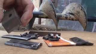 Обзор ножей для мотобура