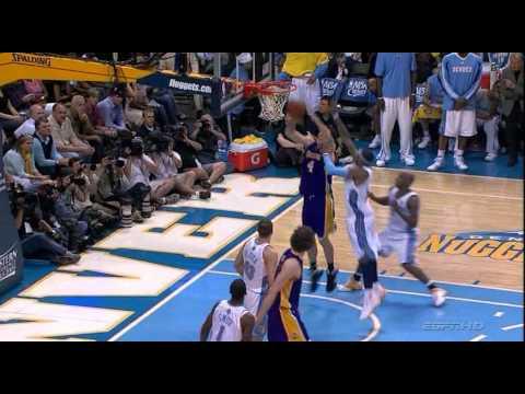 Kings Coach Luke Walton Posterizes Carmelo Anthony