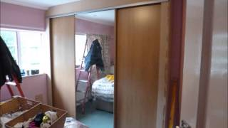 How to fit Wardrobes with sliding doors