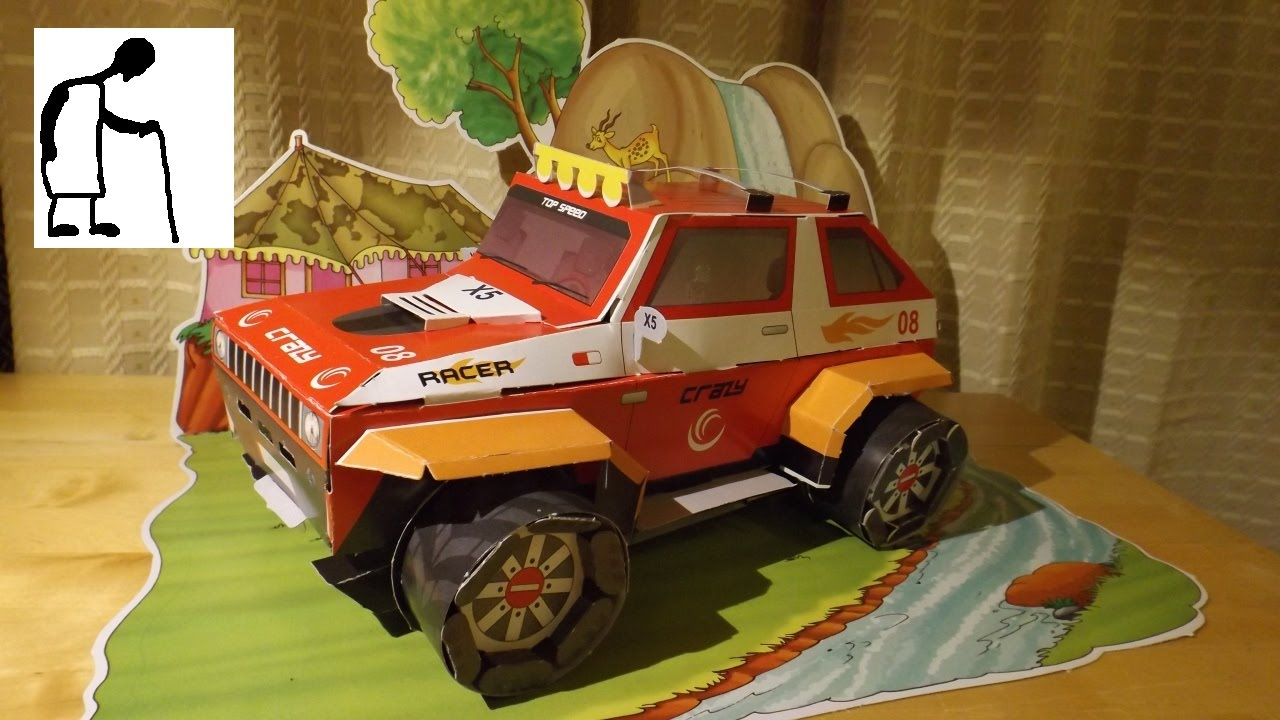 Lets Build Your Own Cardboard Monster Truck YouTube