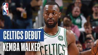 Kemba Walker Makes His Boston Celtics DEBUT! | October 6, 2019