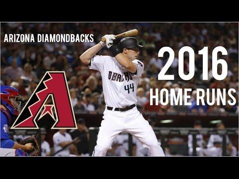 Arizona Diamondbacks | 2016 Home Runs (190)