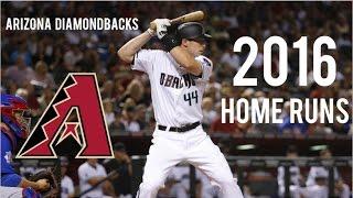 Arizona Diamondbacks   2016 Home Runs (190)