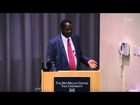 "Raila Odinga,  ""Afro-Optimism: Has the Pendulum Swung Too Far?"""