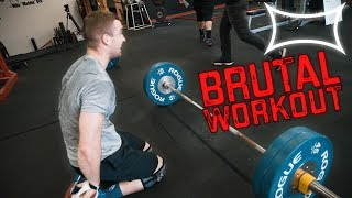 Crossfitters Try BRUTAL Powerlifting Challenge (40,000lbs VOLUME) ft. the Smith Bros