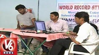 Hyderabad techie creates world record in solving Rubik