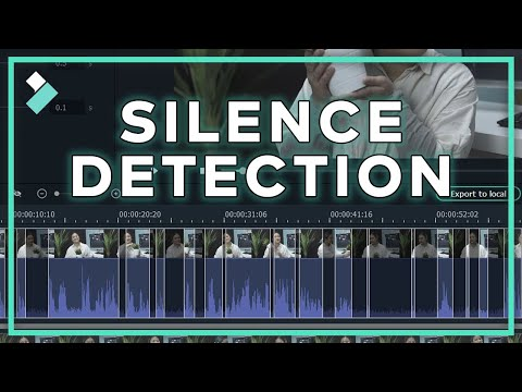 New Add-on on Wondershare Filmora X: Silence Detection
