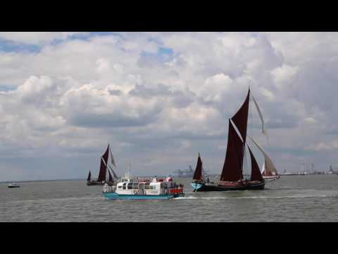 Thames Sailing Barge Match 2016