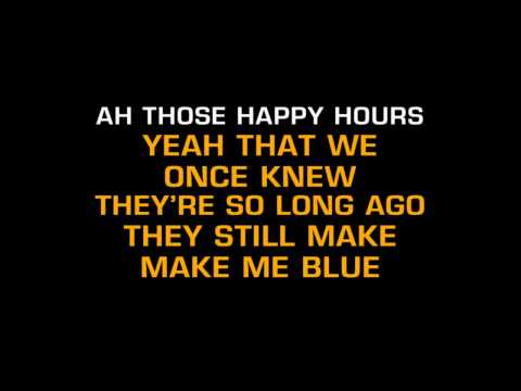(HD) Elvis Presley I Cant Stop Loving You Karaoke