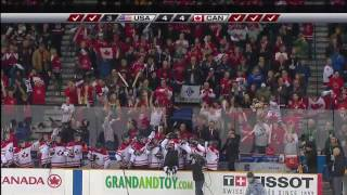 2010 IIHF World Junior Hockey: Canada vs. USA  ShootOut HD