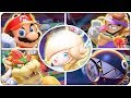 Mario Tennis Aces - All Character Animations (so far)