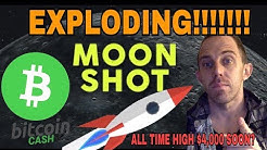 Bitcoin Cash Going To The Moon? BTC Bitcoin Cash Surges 40% In 24 hours - What's The Cause?