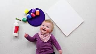 Make Your Own: Kaleidoscope Handprint Rainbow!